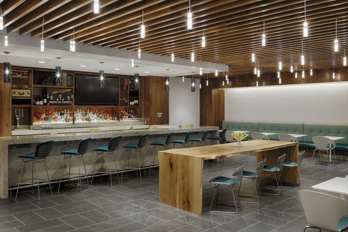 The New Centurion Lounge at DFW
