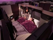 Score Qatar Qsuites for a fraction of the price through American's AAdvantage miles sale.