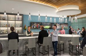 The chic new Club MSY is accessible to Priority Pass members