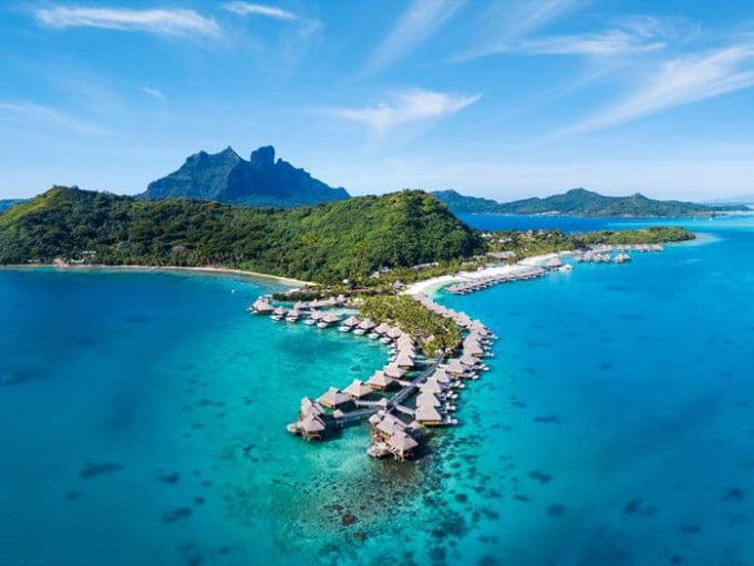 Score a stay at the Conrad Bora Bora Nui by transferring Amex points to Hilton Honors